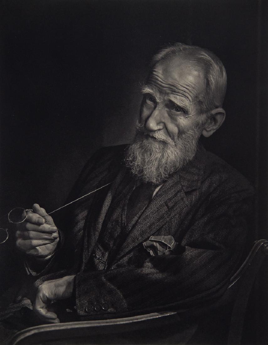 YOUSUF KARSH - George Bernard Shaw
