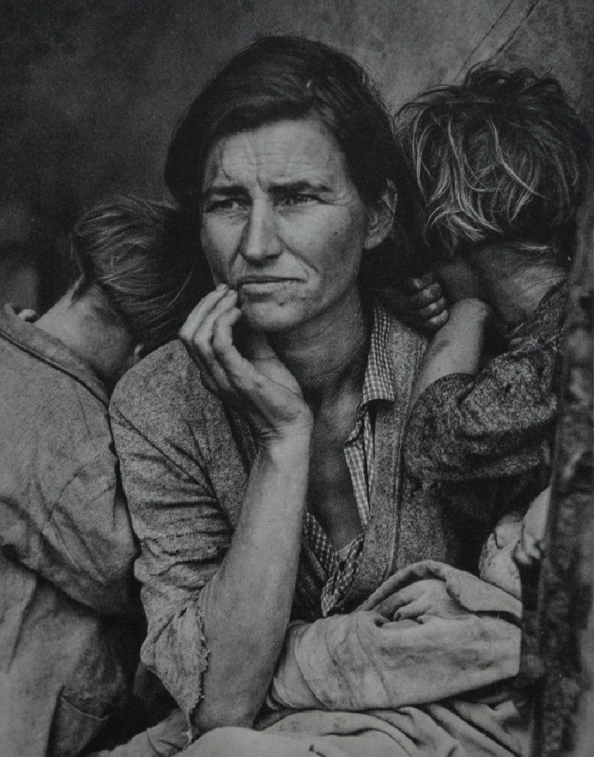 DOROTHEA LANGE - Migrant Mother, California, 1936