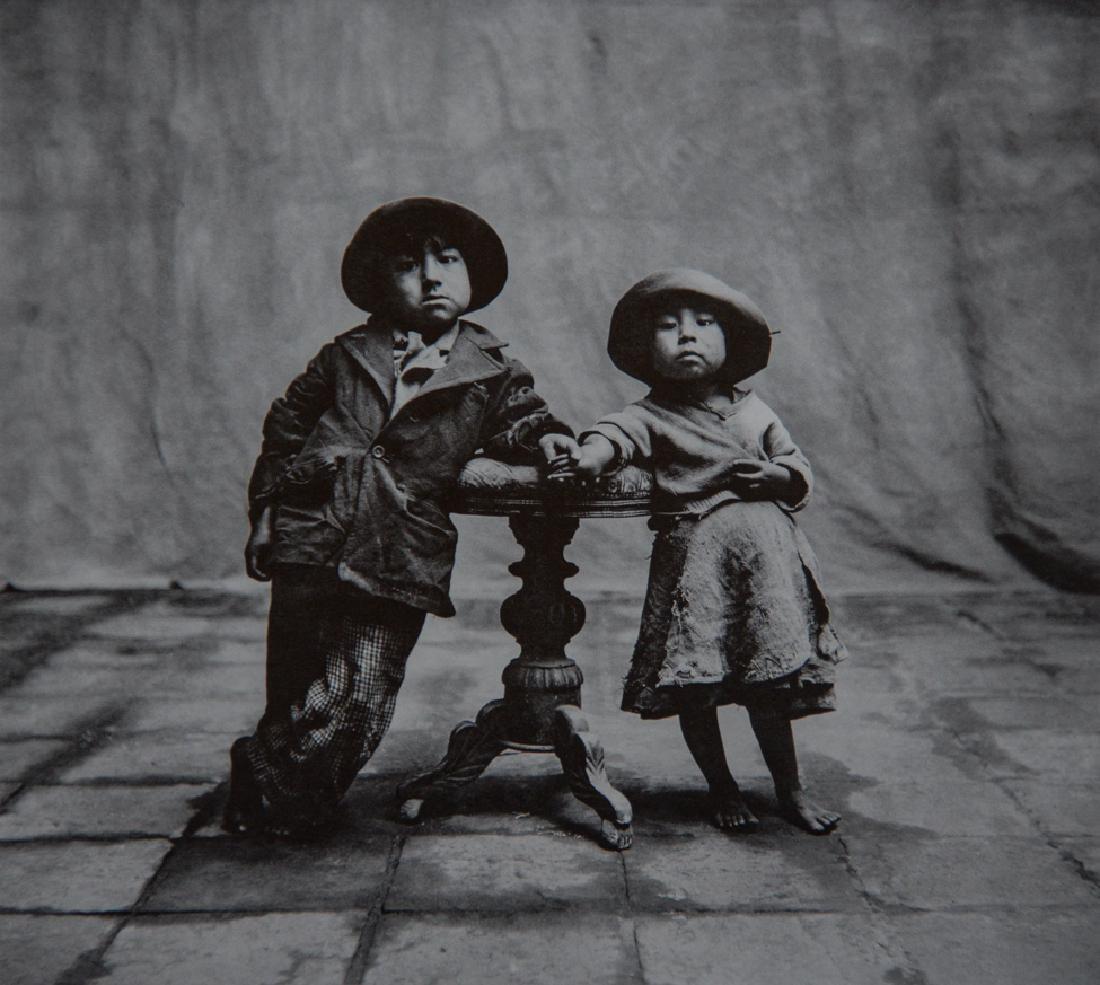 IRVING PENN - Cuzco Children, 1948