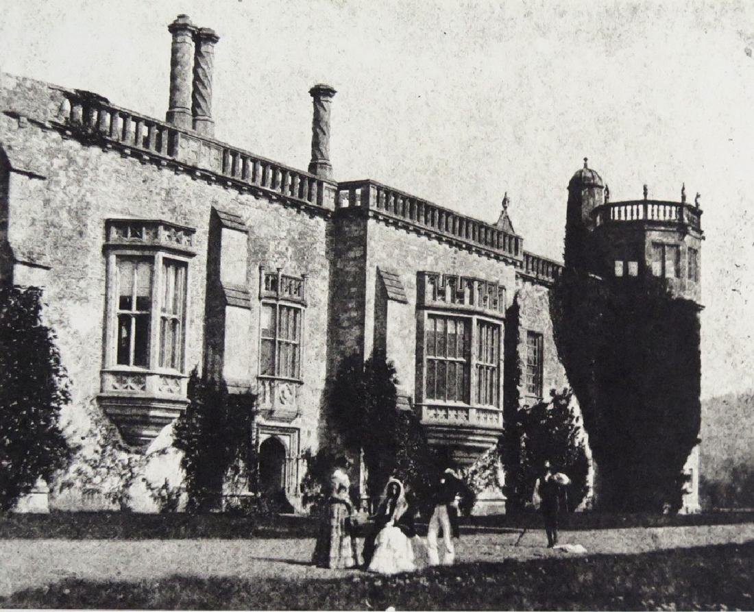W.H. FOX TALBOT - Talbot family house at Lacock Abbey