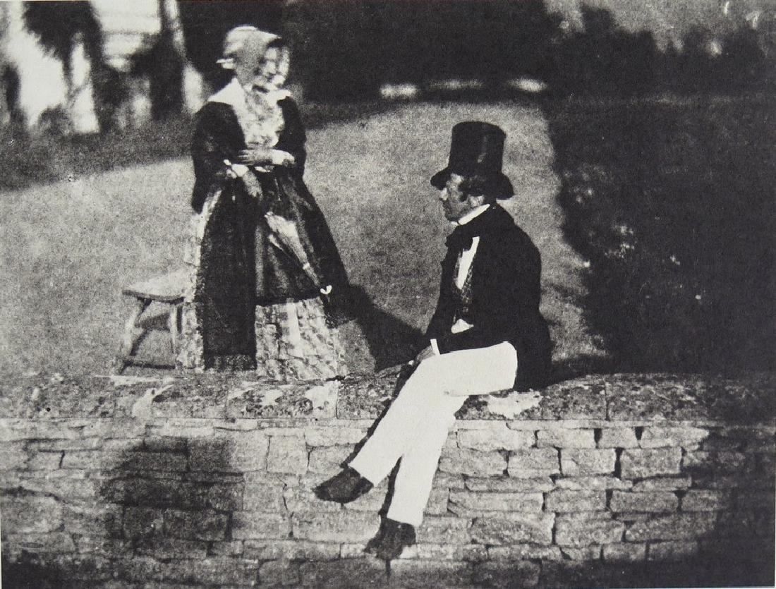 W.H. FOX TALBOT - Kit Talbot and Lady Charlotte