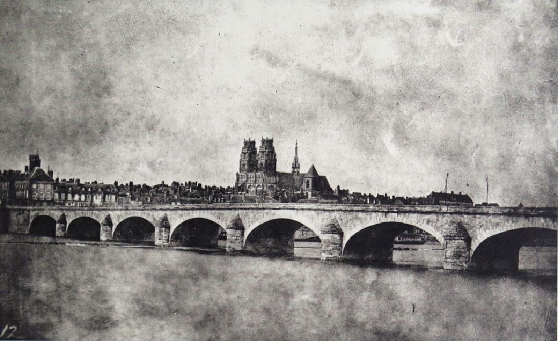 W.H. FOX TALBOT - The Bridge of Orleans,14 June 1843