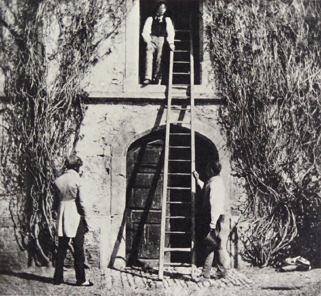 W.H. FOX TALBOT - The Ladder, April 1844.