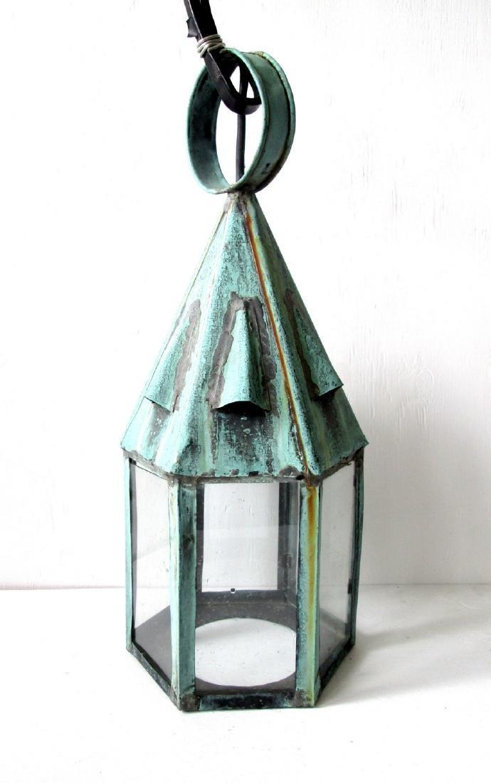 Early Copper Lantern