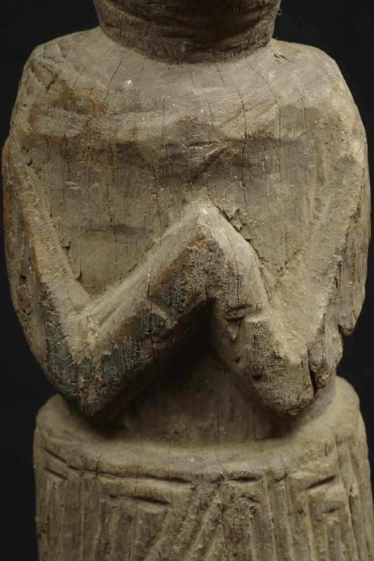 Old massive ancestor figure - 9