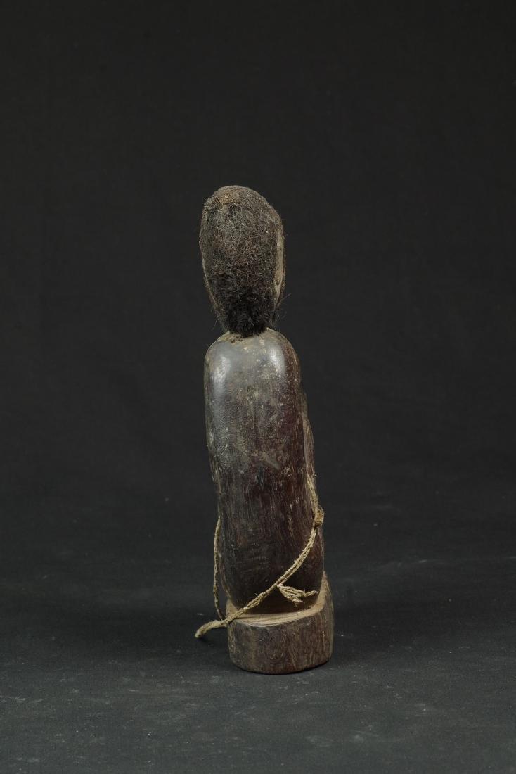 Ancestor figure with hair and beard - 3