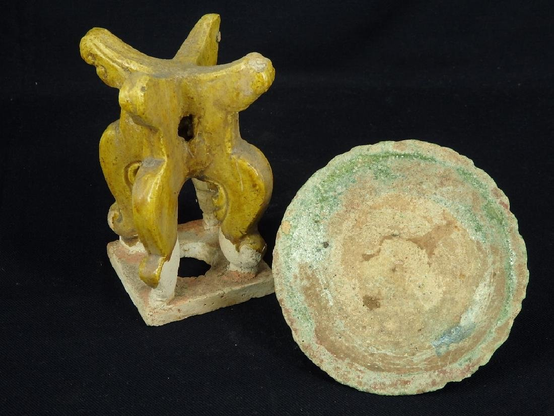 Antique oil lamp with stand, Ming Dynasty - 6