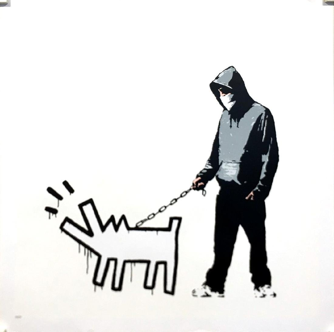 Choose Your Weapon (White) Limited Edition After Banksy