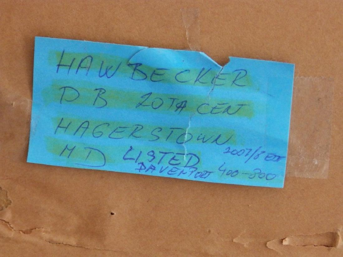 NEW YORK, BROWNSTONE STREET' Listed DB Hawbecker - 7