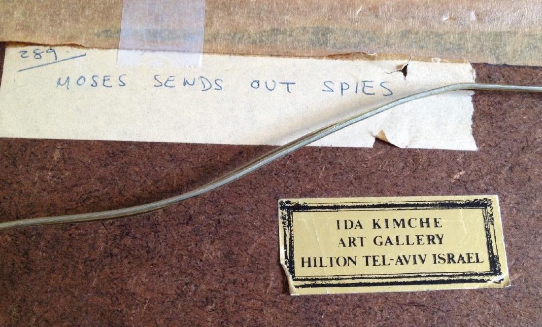Shlomo Katz Moses Sends Out The Spies. - 2