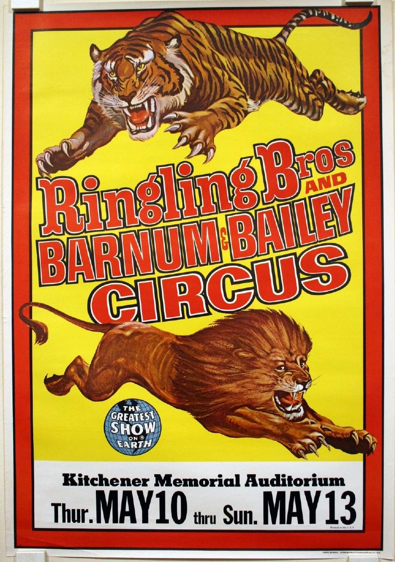 Ringling Bros and Barnum & Bailey Circus Lion and Tiger