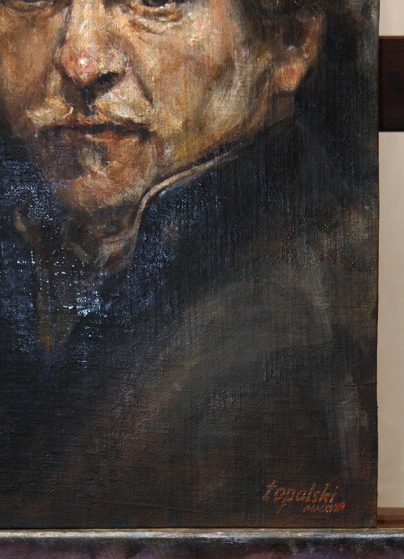 Darko Topalski Painting Rembrandt after Rembrandt - 4