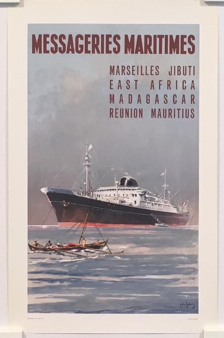 Messageries Maritimes Marseille Djibouti Small Original