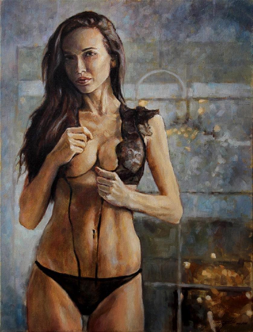 Darko Topalski Painting L' Agent