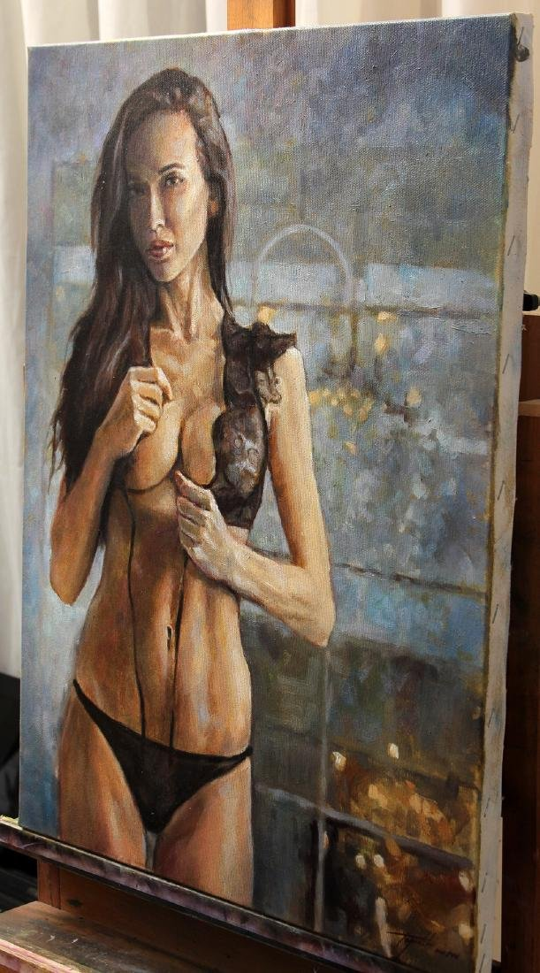 Darko Topalski Painting L' Agent - 2