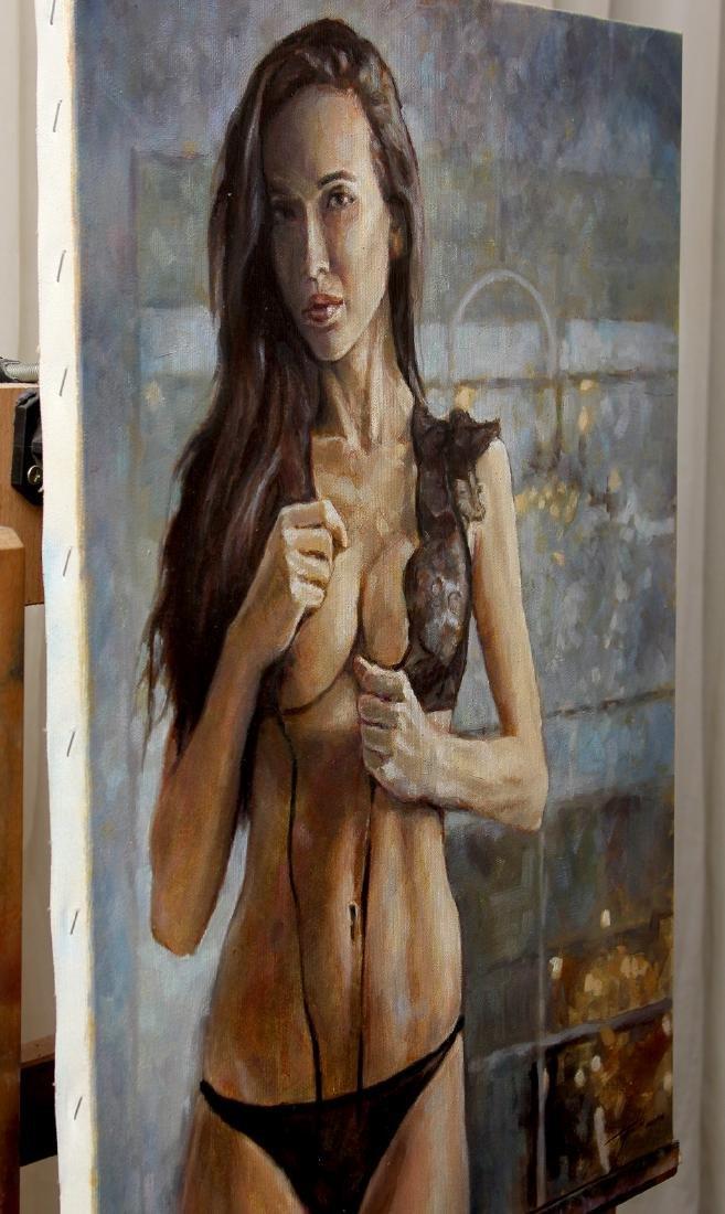 Darko Topalski Painting L' Agent - 3
