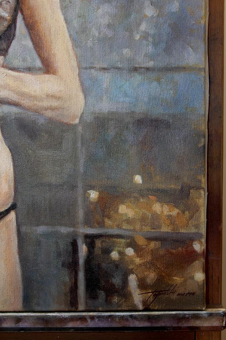 Darko Topalski Painting L' Agent - 4
