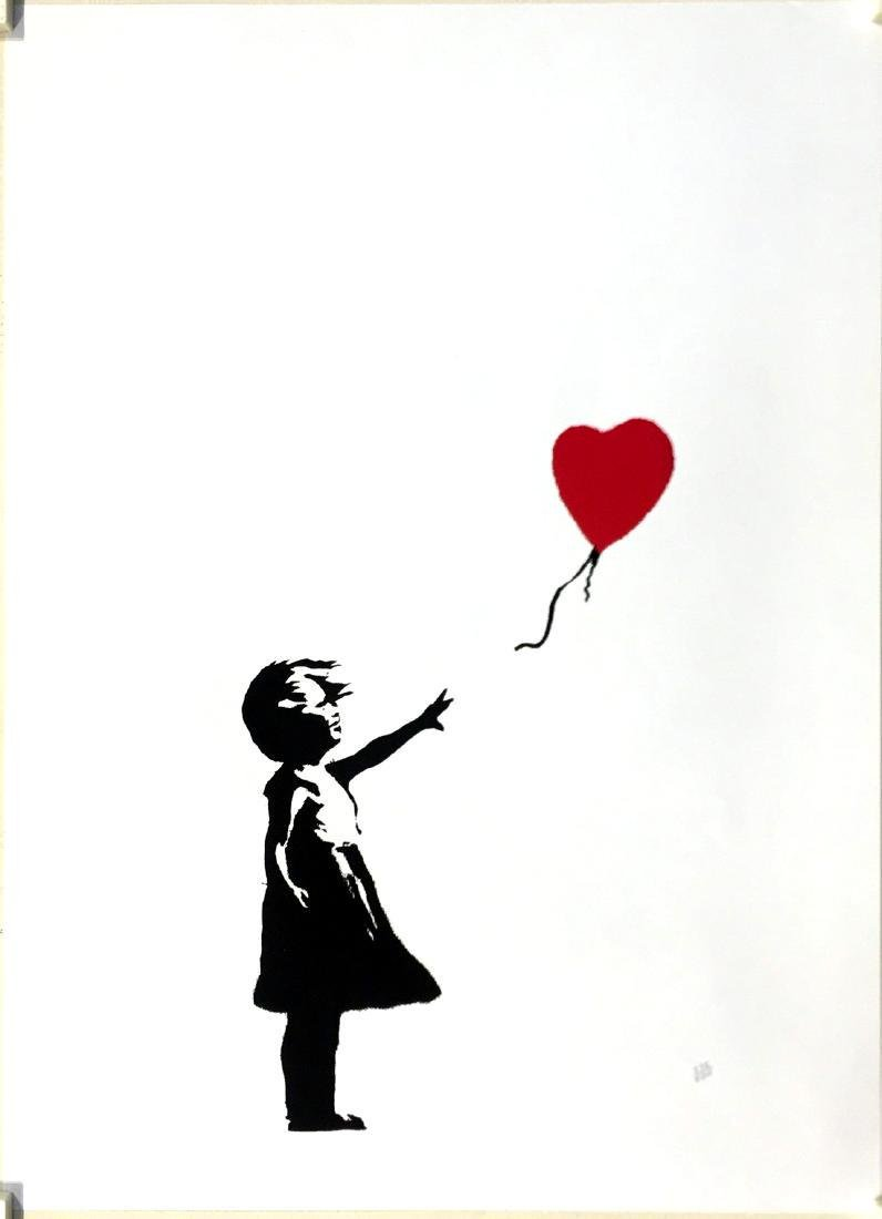 Girl with Balloon Limited Edition After Banksy