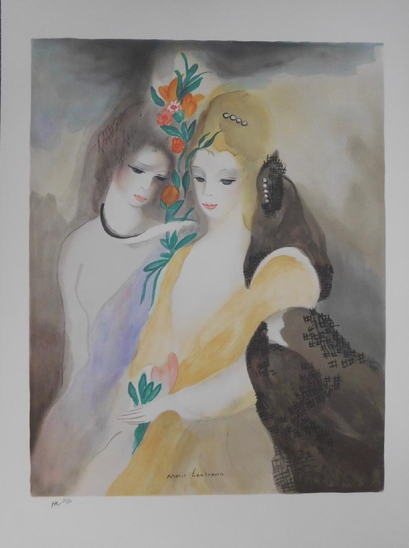 Marie Laurencin - Les Filles avec les Fleurs