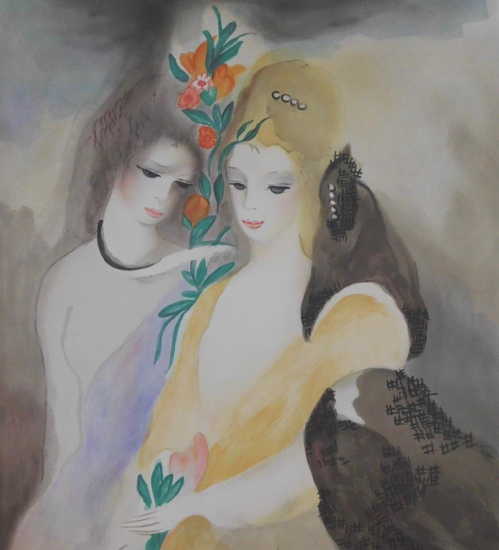 Marie Laurencin - Les Filles avec les Fleurs - 2