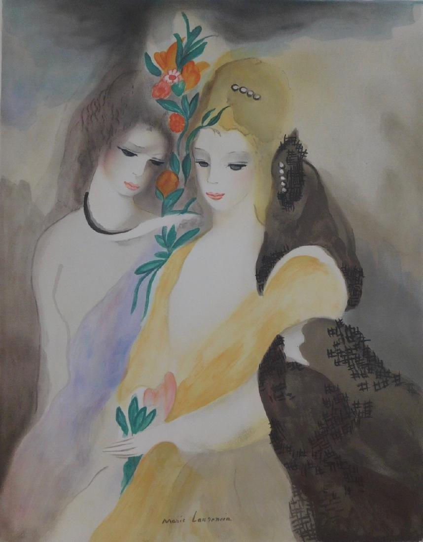Marie Laurencin - Les Filles avec les Fleurs - 3