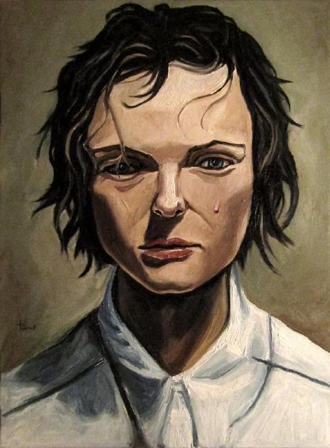 Thomas Pramhas Painting Margaret