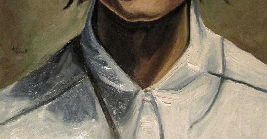 Thomas Pramhas Painting Margaret - 3