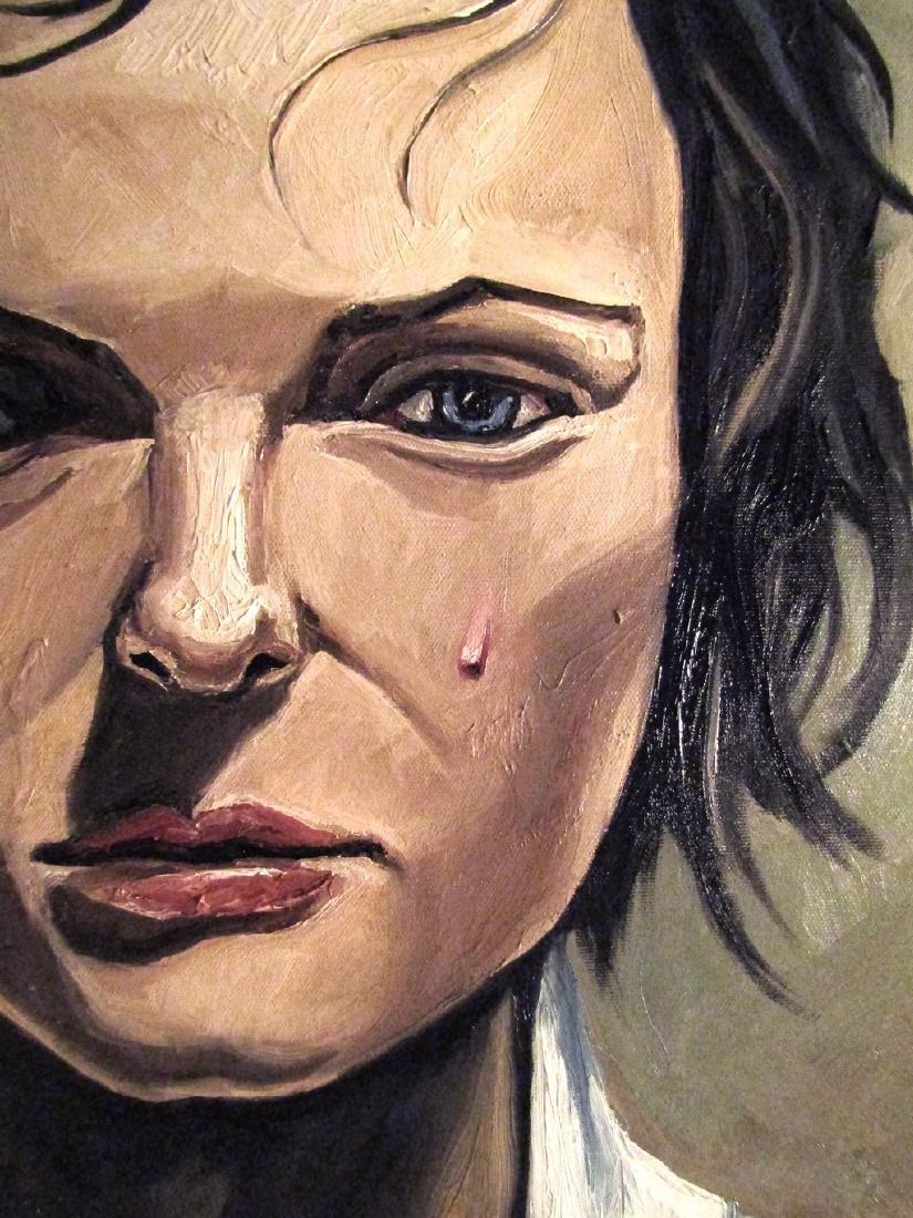 Thomas Pramhas Painting Margaret - 4