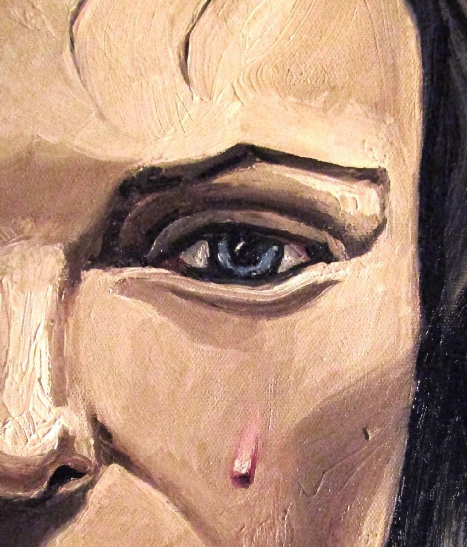 Thomas Pramhas Painting Margaret - 5