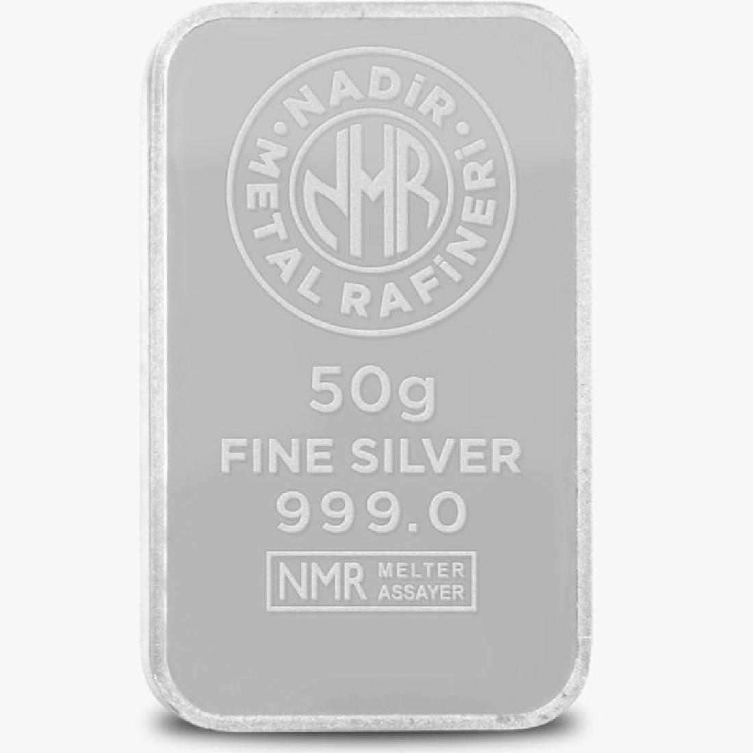 50 gr. - 999/1000 - Minted/ Sealed Silver bar - 2