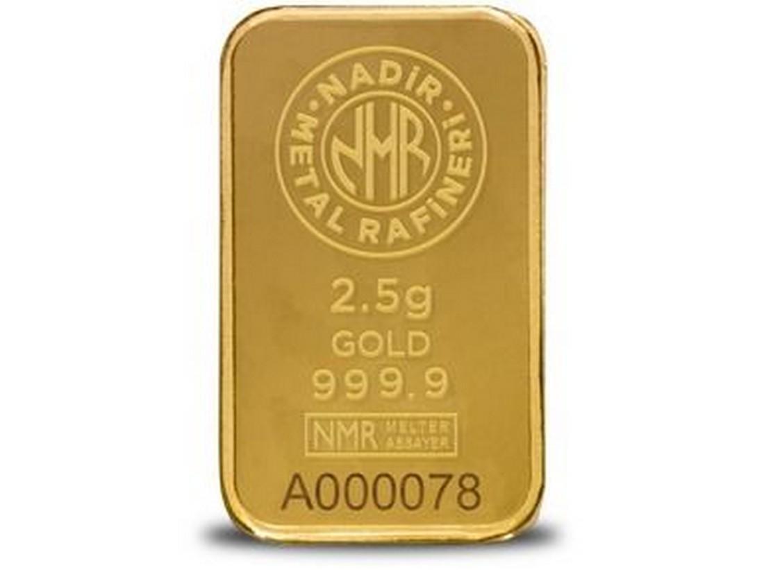 2.5g - 999.9/1000 - Minted/ Sealed Gold Bar