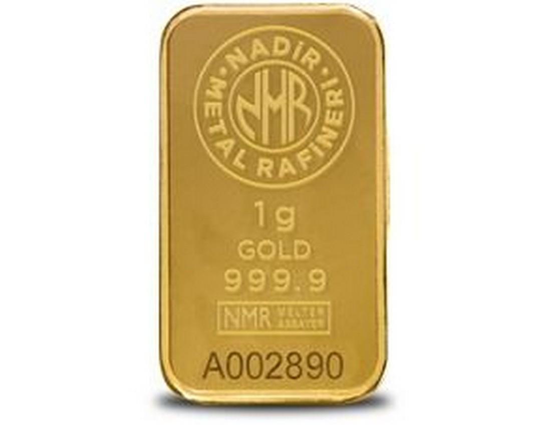 1 gr. - 999.9/1000 - Minted/ Sealed- Gold Bar