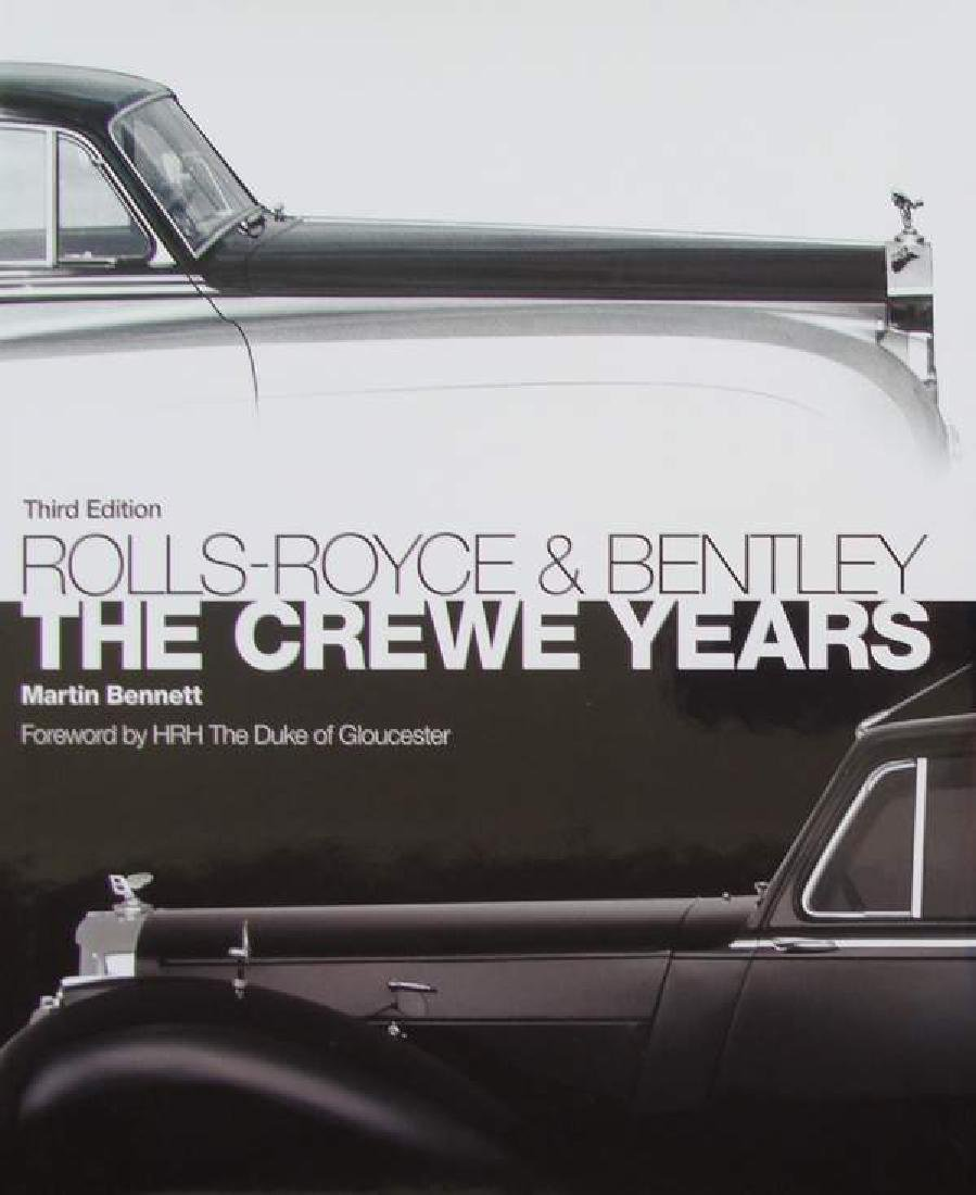 Book : Rolls-Royce and Bentley - The Crewe Years