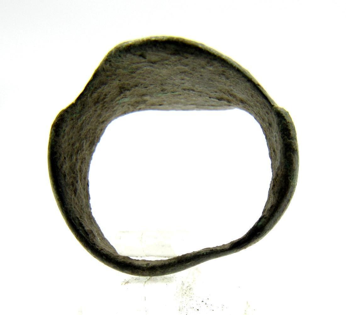 Medieval Crusaders Era Bronze Star of Bethlehem Ring - 3