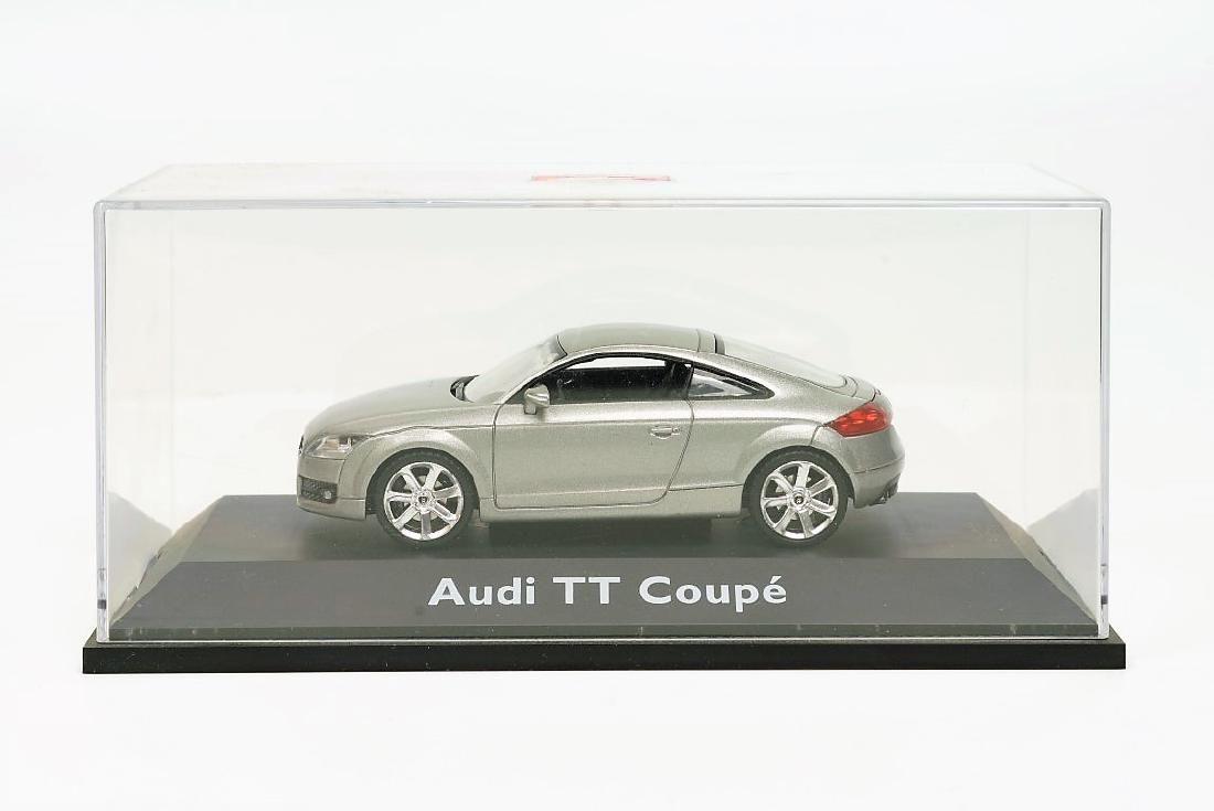 Schuco Audi TT Coupé 2006 Silver Grey 1/43