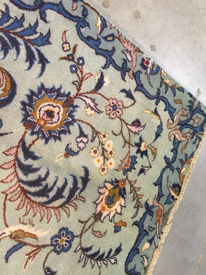 Unique Vintage Persian Kashan Rug 6.7x10.1 - 3