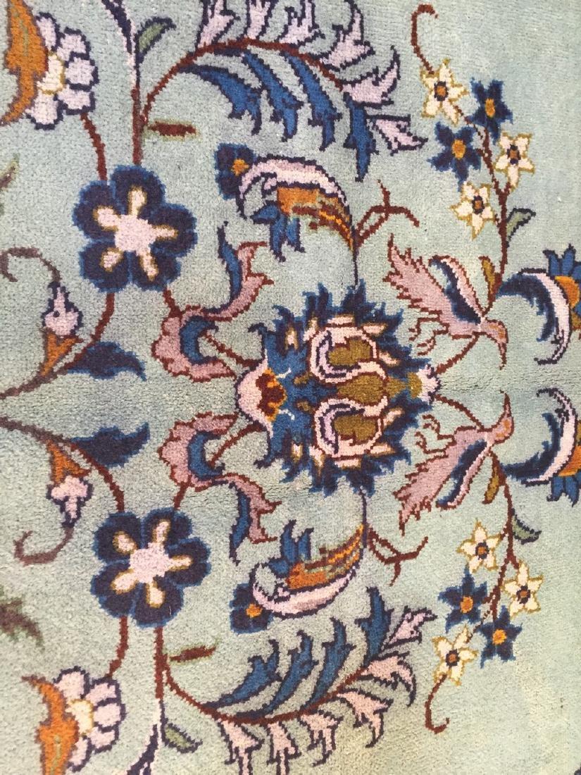 Unique Vintage Persian Kashan Rug 6.7x10.1 - 4
