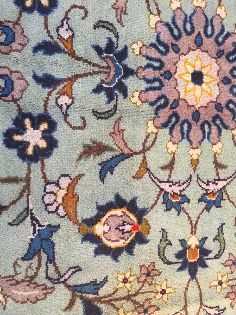 Unique Vintage Persian Kashan Rug 6.7x10.1 - 5