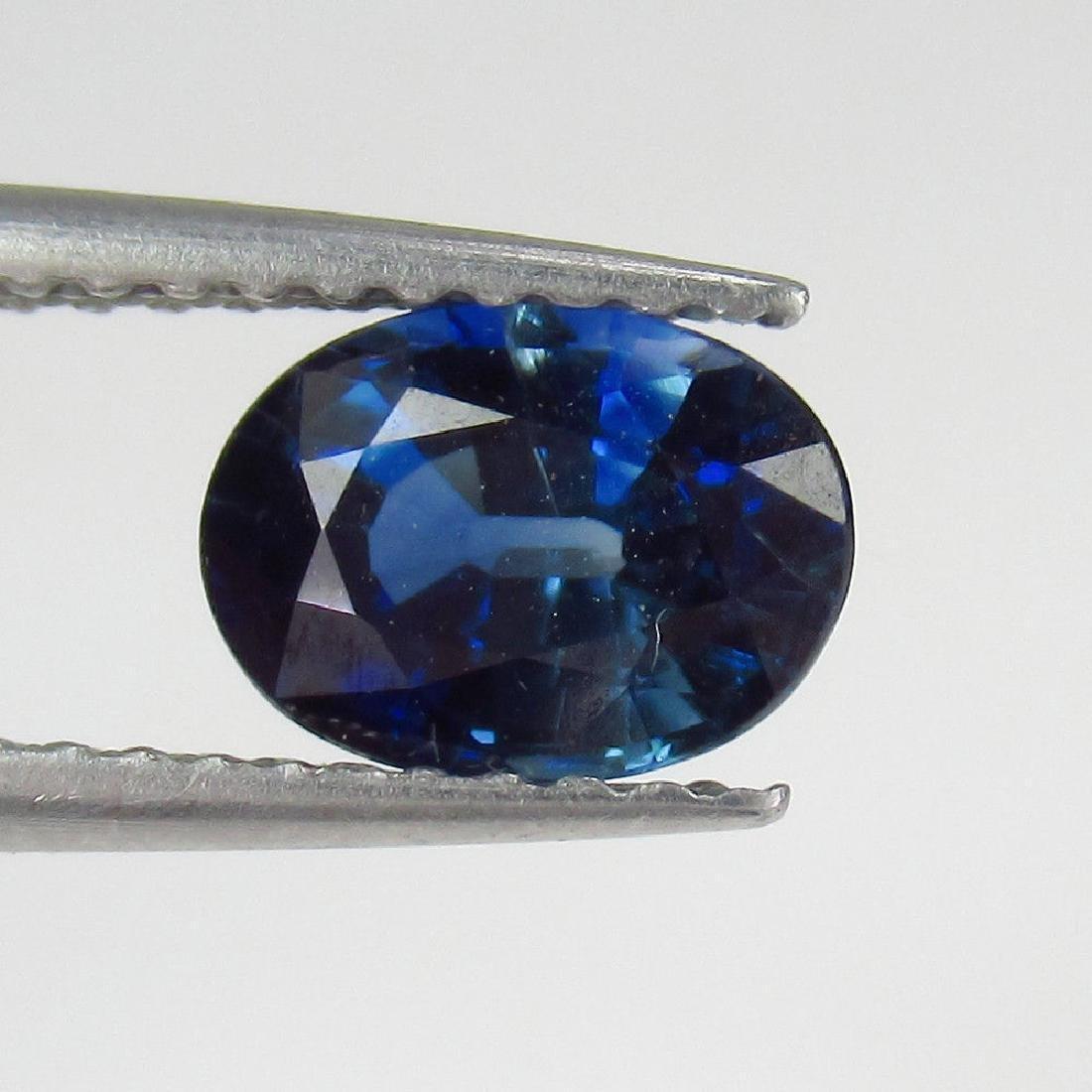 1.23 Ct Genuine Loose Ceylon Blue Sapphire Nice Oval