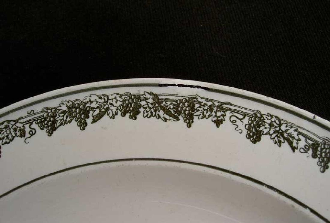 French Creil transfer printed plate, c.1820-30 - 5