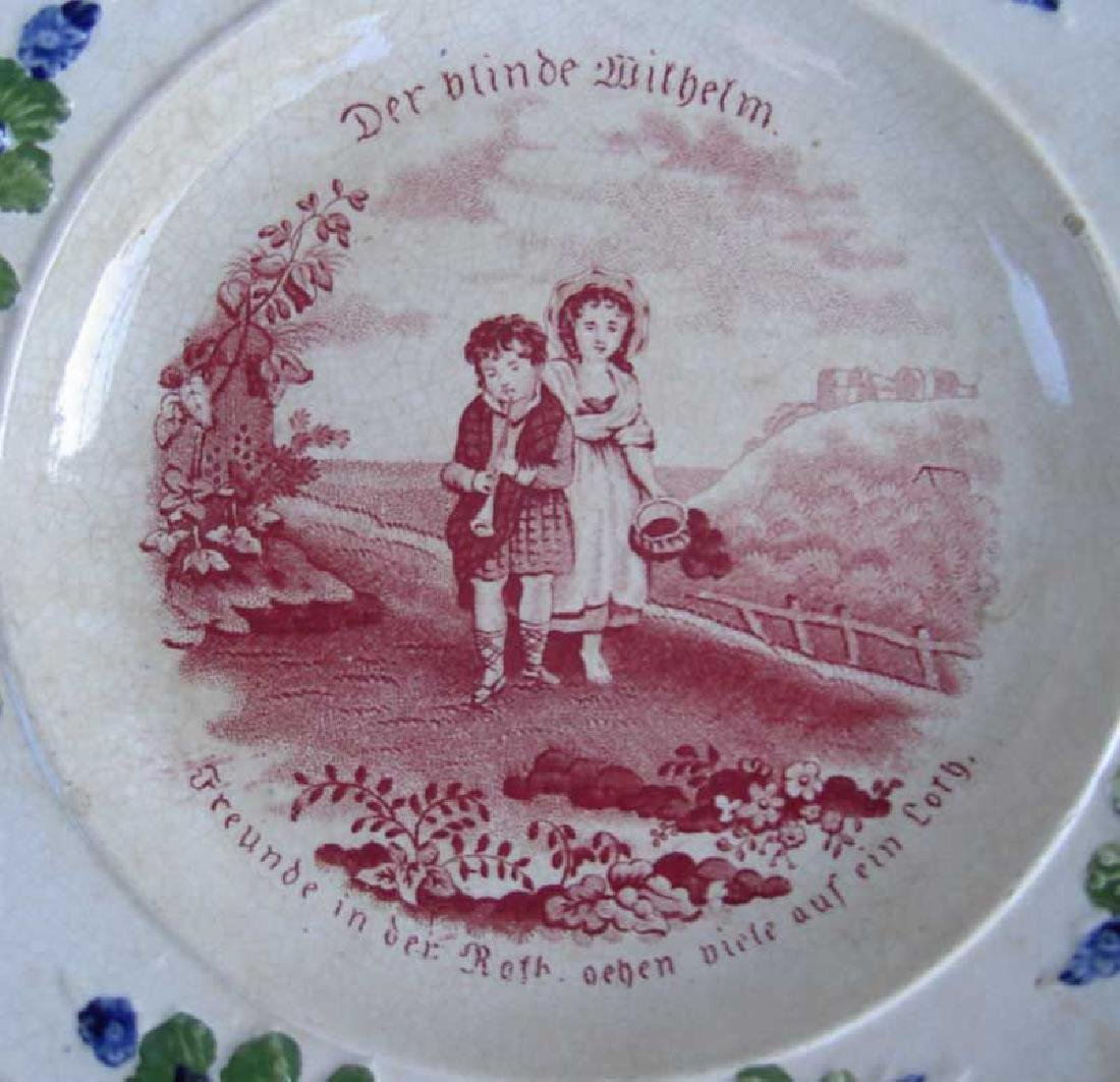 Child's plates with proverbs, Georgian - 4