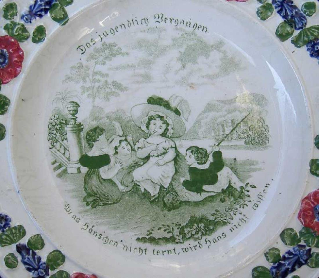 Child's plates with proverbs, Georgian - 6