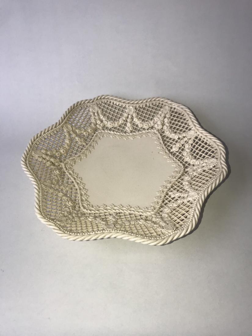 Creamware Fruit plate