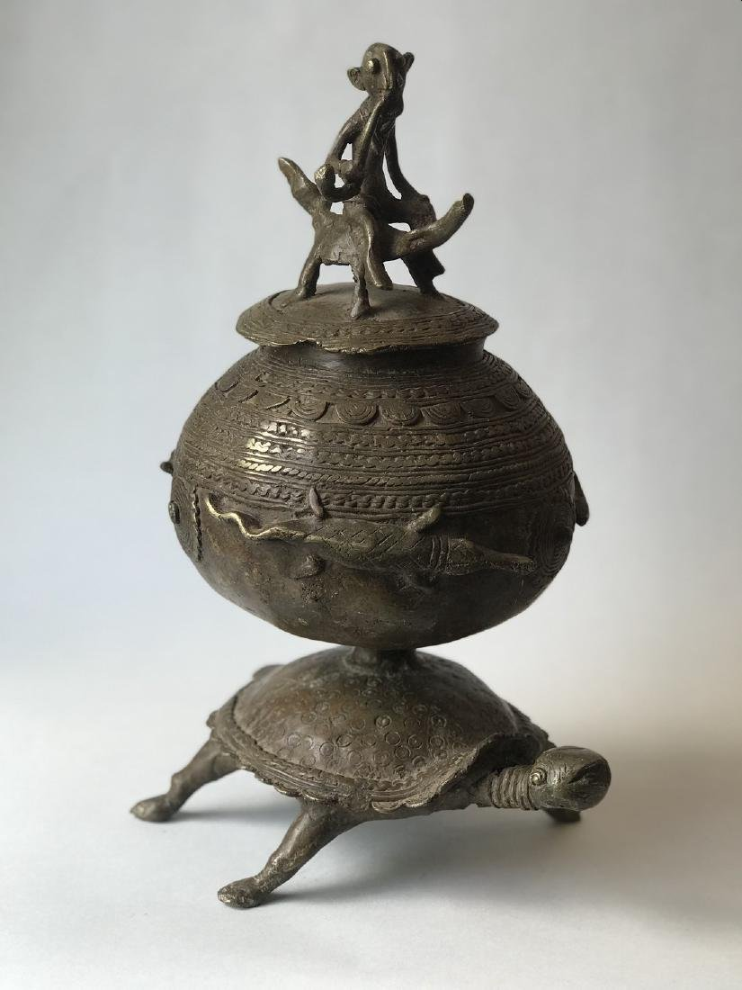 African bronze apothecary - 2