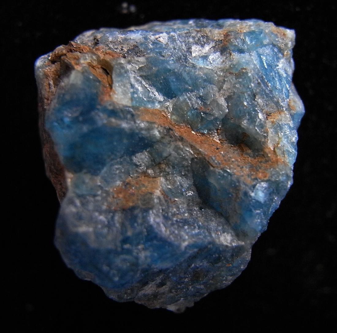 Blue-green Apatite