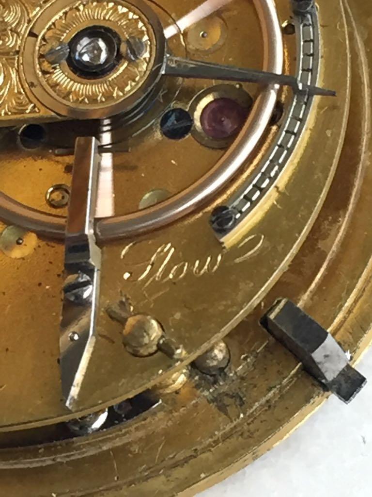 Gold pocket watch - 7