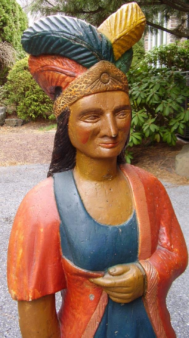 Minnie Cigar Store Indian - 4