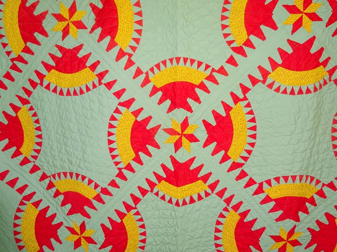Vintage New York Beauty Quilt / aka Rocky Road - 2