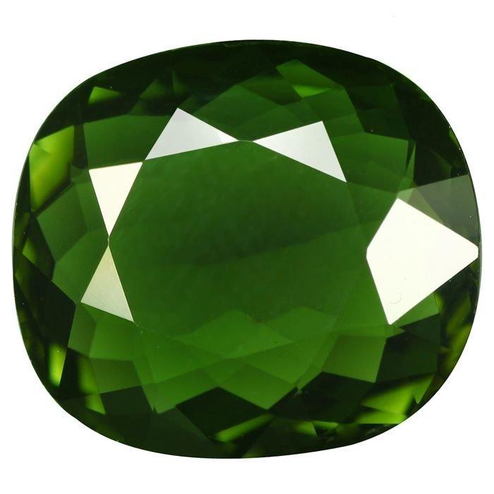 Green Cuper Tourmaline GIA
