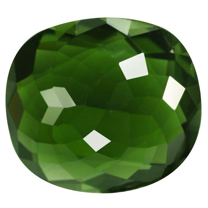 Green Cuper Tourmaline GIA - 2